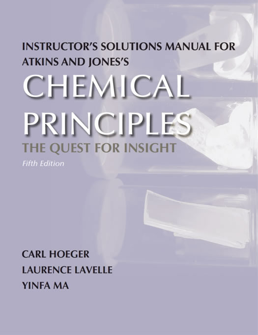 Chemical Principles Instructor Solutions 5th